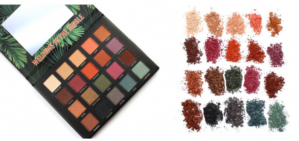 Technic Eyeshadow Palette Be Fearless 20 Colours